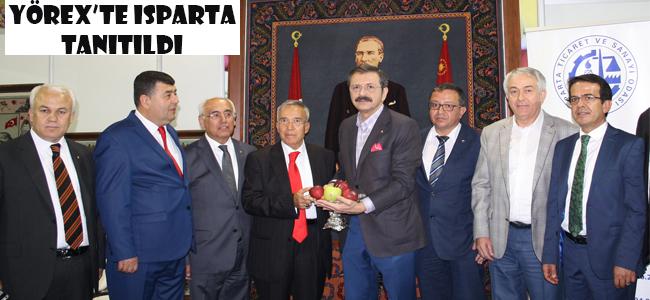 Yörex Fuarı'nda Başkan Nuri Dirik de yer aldı