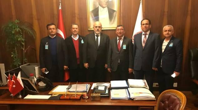 Sektioğlu başkanlar toplantısına katıldı