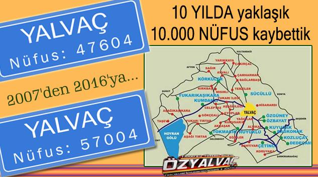 Yalvaç'ı şimdi de büyükşehire bağlanma olumsuzlukları bekliyor