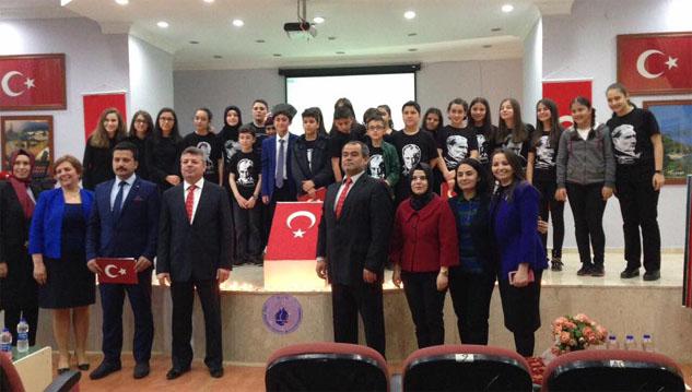 İstiklal Marşı'nın kabulünün 96. yıldönümü kutlandı