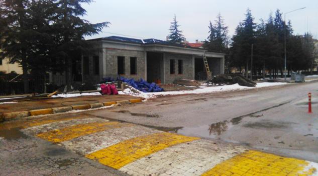 Alemdar İlkokulu öğrenci velileri 112 girişinin değişmesini istiyor