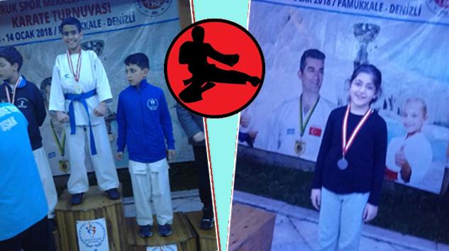 YALVAÇ BELEDİYESİ KARATE Takımından 6 Madalya