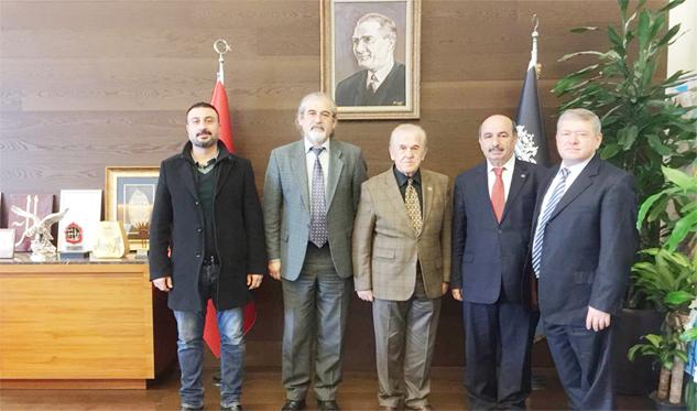 BeşiktaşBelediye Başkanı Doğaç'a İstanbul'daki hemşehrilerinden ziyaret