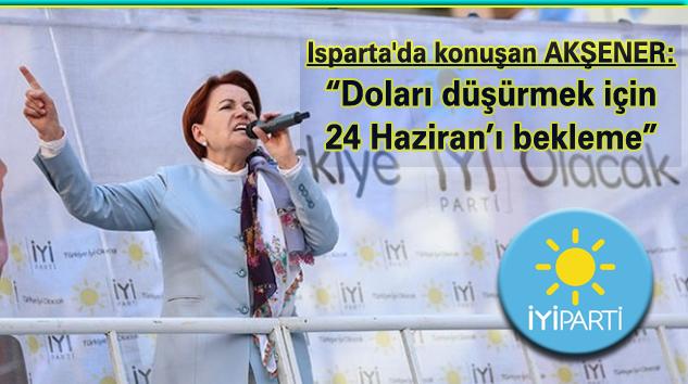 """""""İYİ Parti ile Türkiye kendi kendine yeter bir hale gelecek"""""""