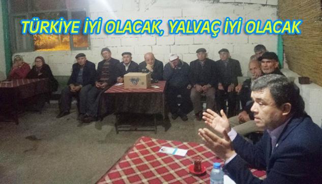 İYİ Parti köy ziyaretlerini hız kesmeden sürdürüyor