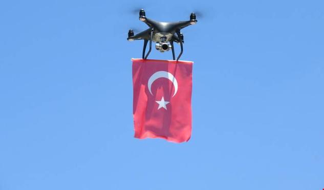 Köylere Hizmet Götürme Birliği'nden Jandarmaya DRONE