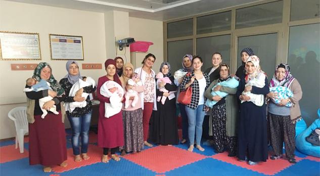Hastanede Diyabet Okulu, Bebek Dostu ve Anne Eğitimleri tamamlandı