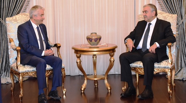 Kıbrıs Cumhurbaşkanı Akıncı, ITSO ekibini ağırladı