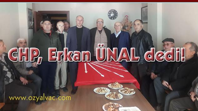 CHP'de Yalvaç Belediye Başkan adayı Av.Erkan Ünal
