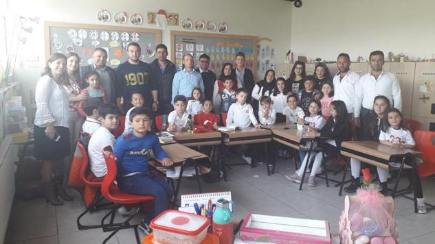 Körkülerli çocuklarımız Ankaralı mektup arkadaşlarıyla buluştu
