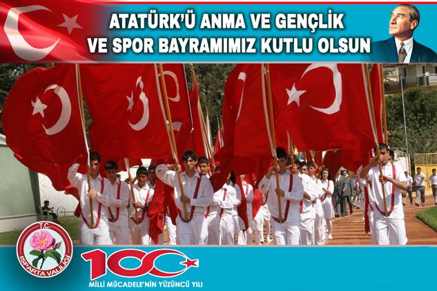 Seymenoğlu'nun Atatürk'ü Anma, Gençlik ve Spor Bayramı Mesajı
