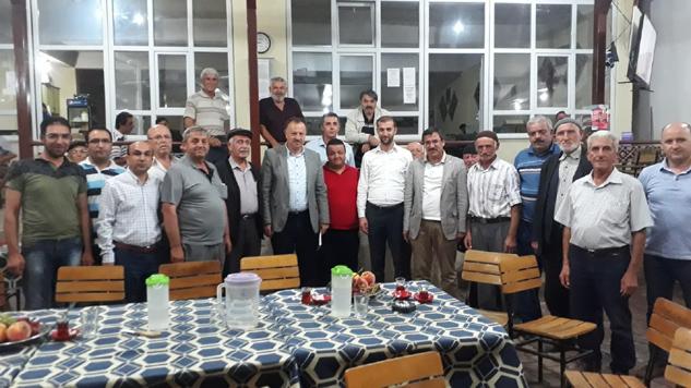 Recep Özel Özbayat ve Kuyucak'ı ziyaret etti
