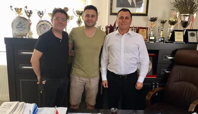 Yalvaçspor'dan Murat Gevrek'e Ziyaret