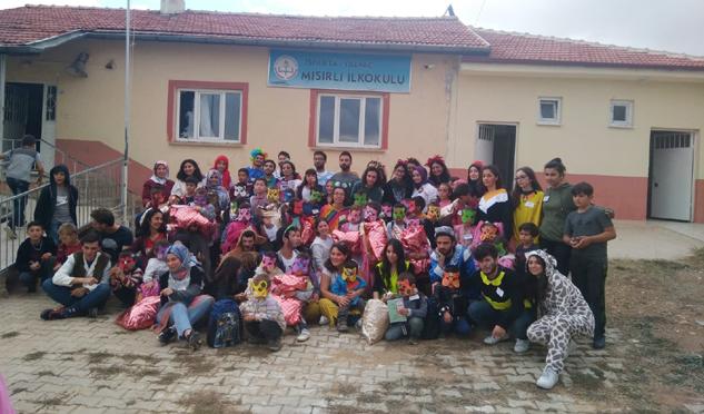 İTÜ'lü gönüllü gençlerden Mısırlı'da örnek çalışma