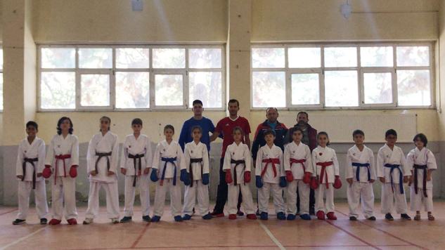 Spor Haftasına Belediye Karate Okulundan Katkı