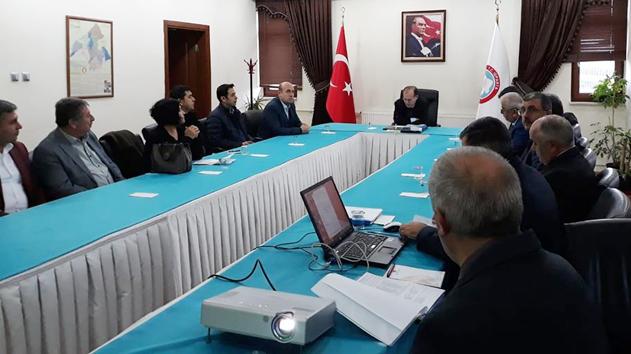 Yalvaç Organize Sanayi Bölgesi için iki önemli toplantı yapıldı