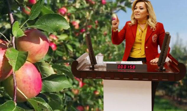 "MİLLETVEKİLİ CESUR'dan İKTİDARA: ""ELMA DERSEM ÇIK…"""