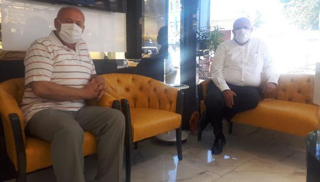 Süreyya Bilgiç, Uyaroğlu'nu ziyaret etmeyi unutmadı