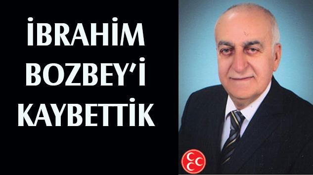 İbrahim Bozbey hocayı kaybettik