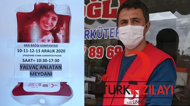 Kızılay Temsilcisi Güleç'ten Kan Bağışı Çağrısı