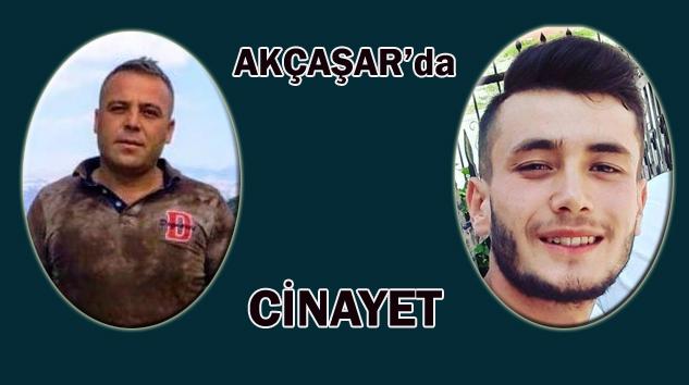 Akçaşar'da Cinayet: 2 Ölü