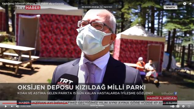 Şifa kaynağı Kızıldağ TRT Haber'in gündeminde
